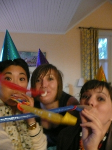 party hats and silliness