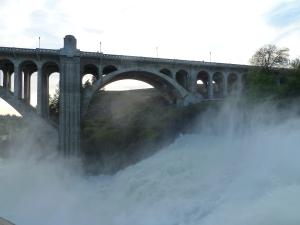 Monroe Street Bridge and Falls - 2011