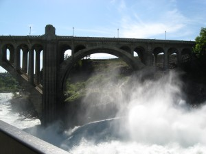 Monroe Street Bridge and Falls